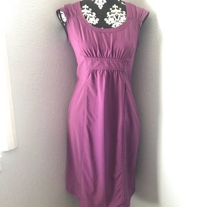 Ahleta purple selth dress